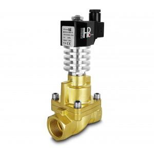 Solenoidni ventil na paro in visoko temp. RHT25 DN25 300C 1 palčni