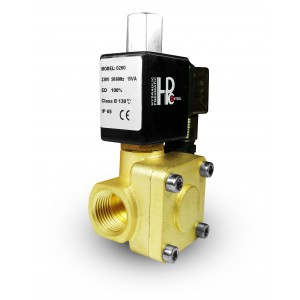 Solenoidni ventil je odprt 2K15 NE 1/2 palčni 230V ali 12V 24V