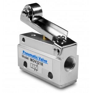 Ročni ventil 3/2 MOV321R 1/8 palčni aktuatorji