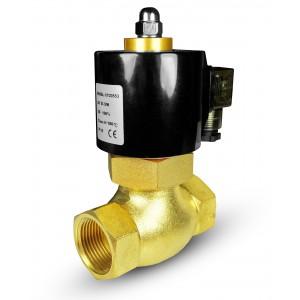 Solenoidni ventil za paro in visoko temp. 2L40 DN40 180 ° C 1 1/2 palca