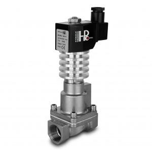 Solenoidni ventil na paro in visoko temp. RHT15-SS DN15 300C 1/2 palca