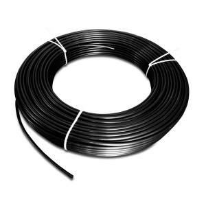 Poliamidna pnevmatska cev PA Tekalan 4 / 2,5 mm 1m črna