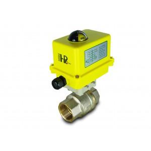 Kroglični ventil 1 1/2 palčni DN40 z električnim aktuatorjem A250