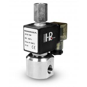 3-smerni magnetni ventil RM23-02 3 x 1/4 palca