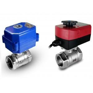Kroglični ventil 1 palčni z električnim aktuatorjem A80 ali A82