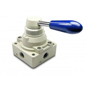 Ročni ventil 4/3 4HV230-08 1/4 palčni pogoni