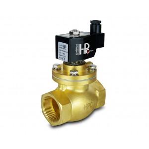 Solenoidni ventil na paro in visoko temp. odprto LH50-NO DN50 200C 2 palca