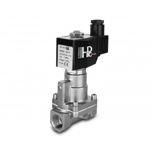 Solenoidni ventil na paro in visoko temp. RH15-SS DN15 200C 1/2-palčno nerjavno jeklo SS304