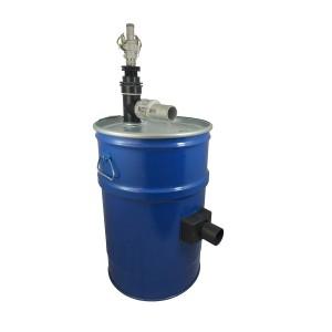 Rezervoar za sesalnik 60l s čiščenjem filtra s stisnjenim zrakom