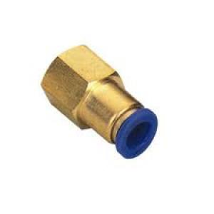 Priključna cev za bradavice 6 mm notranji navoj 1/4 palčni PCF06-G02