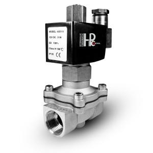Solenoidni ventil je odprt 2N15 NO 1/2 palčni nerjavni jek SS304 230V ali 12V, 24V, 48V