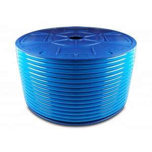 Poliuretanska pnevmatska cev PU 10 / 6,5 mm 1m modra