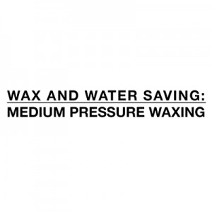 Varčevanje z vodo in voskom - srednji tlak z voskom