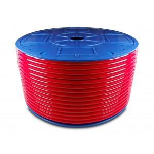 Poliuretanska pnevmatska cev PU 16/11 mm 1m modra