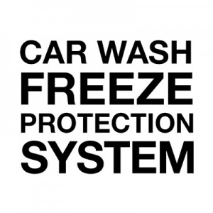 Sistem za zaščito pred zmrzovanjem za pranje