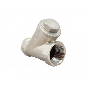 Preverite ventil Y tip DN20 3/4 palčni - nerjaveče jeklo SS316