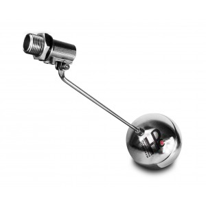 Plavalni ventil, polnilni ventil iz nerjavečega jekla DN15 1/2 palca