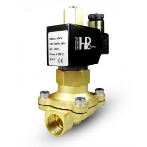 Solenoidni ventil je odprt 2N25 NO 1 palčni 230V ali 12V, 24V, 42V