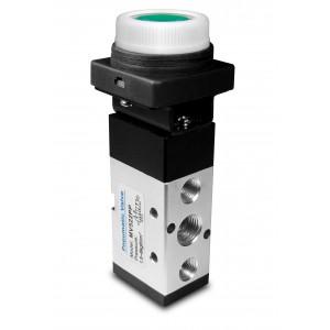 Ročni ventil 5/2 MV522PP 1/4 palčni aktuatorji