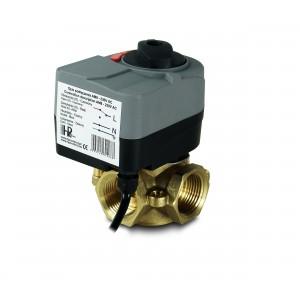 3-smerni 1 palčni mešalni ventil z električnim aktuatorjem AM8