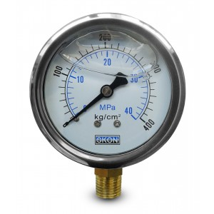 Glicerinski manometer 400 bar
