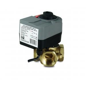 4-smerni 1 1/4 palčni mešalni ventil z električnim aktuatorjem AM8