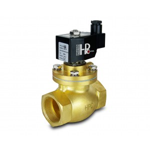 Solenoidni ventil na paro in visoko temp. LH50 DN50 200C 2 palca