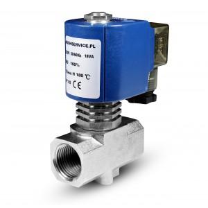 Solenoidni ventil za paro RV15 1/2 palčni 180C