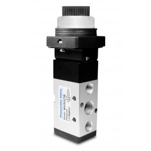 Ročni ventil 5/2 MV522TB 1/4 palčni aktuatorji
