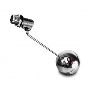 Plavalni ventil, polnilni ventil iz nerjavečega jekla DN20 3/4 palčni