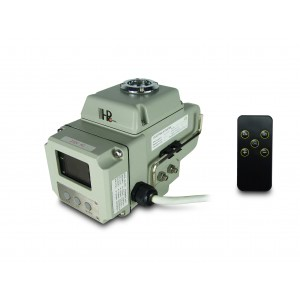 Električni pogon krogelnega ventila A1600 230V AC 160Nm krmiljenje 4-20mA