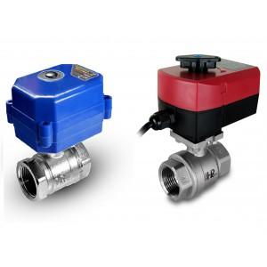 Kroglični ventil 1/2 palčno nerjavno jeklo z električnim aktuatorjem A80 ali A82