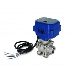 1/2 palčni visokotlačni krogelni ventil PN125 s pogonom A80 ali A82