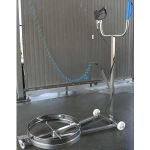 Naprava za pranje podvozja avtomobila - pranje avtomobilskih šasij