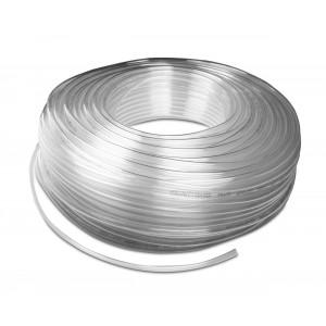 Poliuretanska pnevmatska cev PU 6/4 mm 1m transp.