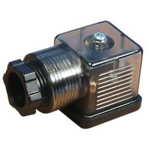 Priključite na magnetni ventil 18 mm DIN 43650 z LED