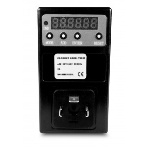Časovni regulator Timer T3800 na magnetni ventil