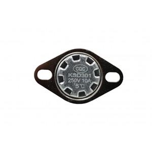 Bimetalni termostat, NC senzor temperature 5 ℃ 10A 230VAC tip KSD301