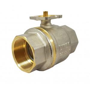 Kroglični ventil 1 1/2 palčni DN40 PN25 pritrdilna plošča ISO5211