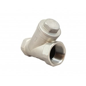 Preverite ventil Y tip DN32 1 1/4 palca - nerjavno jeklo SS316