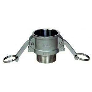 Camlock konektor - tip B 3/4 palčni DN20 SS316
